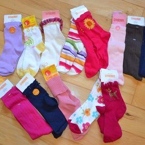 -NEW GYMBOREE BOY/'S 3 PAIR ATHELIC SOCKS-WHITE-SIZE 5-7 SHOE SIZE 11-13